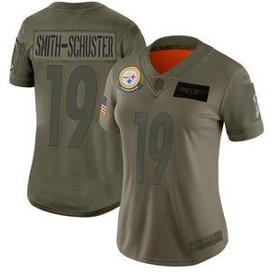 Women Pittsburgh Steelers JuJu Smith-Schuster Jers